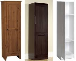 Pantry Cabinet: Single Door Pantry Cabinet with Tall Cabinets For ...