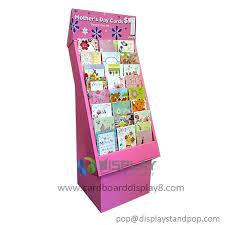 Cardboard Book Display Stands kids book display rack Fashion Corrugated Cardboard Book Display 57