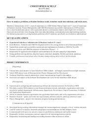 Salesforce Administrator Resume Kordurmoorddinerco Unique Salesforce Resume