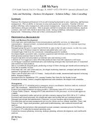 Gallery Of Sample Resume For Marketing And Sales Manager Affordable