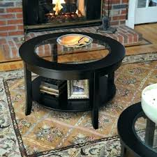 round coffee table inch home oval 30 glass