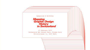 Mapping Graphic Design History In Switzerland Symposium Mgdhs Impressions On Vimeo