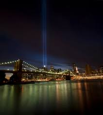 9 11 Lights Live 9 11 Tribute Lights This Is A 4 Shot Vertical Panorama Ta