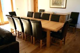 round table seats 10 s what size oval table seats 10