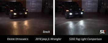 Jeep Tj Fog Light Bulb Replacement Fog Light Leds For 2018 2019 Jeep Jl Wrangler Pair