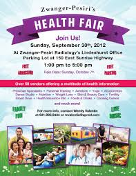 Health Fair Flyers Health Fair Flyer Examples Asafonggecco Health Fair Flyers Coastal