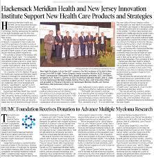 Hackensack University Medical Center Foundation Receives