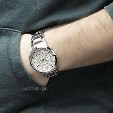 emporio armani ar2458 silver bracelet men s watch men swatch emporio armani ar2458 silver bracelet men s watch men swatch