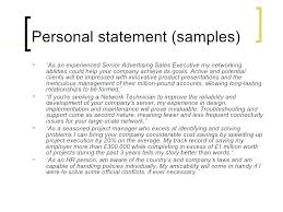 Summary For Resumes Samples Of Personal Brand Statements On Resumes Unique Attractive Resume Samples