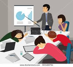 boring people clipart. bored and tired business team sleeping at presentation in office. people taking nap boring clipart .