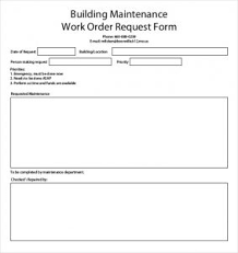 Blank Work Order Forms Templates Free Work Order Forms Charlotte Clergy Coalition