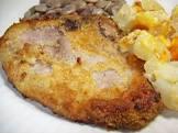 baked ritzed pork chops