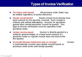 Difference Between Invoice And Receipt Classy XX Consulting MM48 Goods Receipt Invoice Verification November