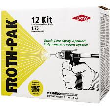 dow froth pak 12 sealant foam insulation kit