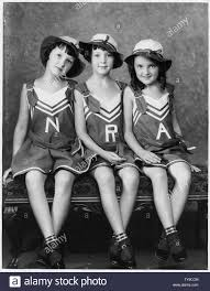 NRA:the NRA triplets:Margaret, Ann and Eileen Johnson:Schenectady, New York  Stock Photo - Alamy