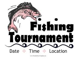 Fishing Tournament Flyer Template Fishing Tournament Flyer