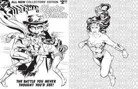 dc ics wonder woman coloring book