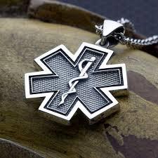 medium star of life ems emt paramedic