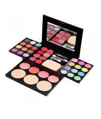 ads fashion colour makeup kit eye shadow blusher lipstick makeup palette kit