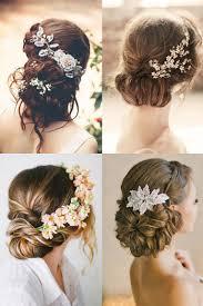 42 Wedding Hairstyles Romantic Bridal Updos Mooi Haar Kapsel