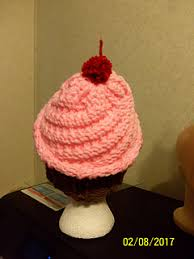 Loom Knitting Hat Patterns Custom Ravelry Loom Knit CupCake Hat Pattern By Nancy Taylor