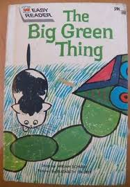 vine wonder book easy reader the big green thing miriam schlein find this pin and more on c cover 3