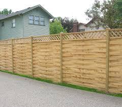 amazing wood fence designs ideas