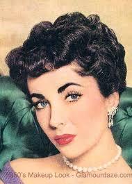 elizabeth taylor 1950s makeup