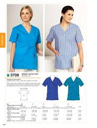 Scrub Top Patterns Extraordinary Kwik Sew 48 Misses Scrub Tops