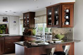 For Remodeling A Small Kitchen Kitchen Small Design With Breakfast Bar Cabin Home Office