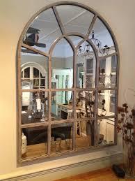 mirror window. window pane wall mirror that looks like with s
