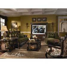 Michael Amini Living Room Furniture Palace Gates Living Room Set By Michael Amini 3 Pc D2d Furniture
