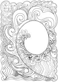 These coloring pages offers something new for all ! Art Therapy Relaxation Printable Coloring Pages