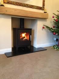 impressive fireplace design ideas using flueless wood burning stoves fabulous living room decoration using black