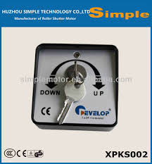 waterproof key switch for rolling shutters and garage doors