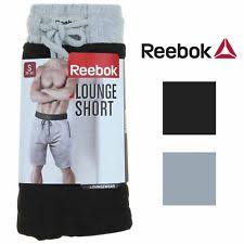 reebok 87958. reebok mens lounge short with elastic and drawstring waistband 87958