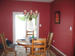 Endearing Dining Room Red Paint Ideas - Dining room red paint ideas
