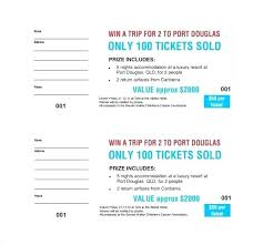 Create Tickets In Word Raffle Numbering Tickets In Word Sequentially Numbered