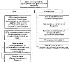 Муниципальная финансовая политика Муниципальное образование  Цели и инструменты муниципальной финансовой политики