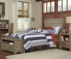 Driftwood Bedroom Furniture 10020 Alex Twin Size Panel Bed Highlands Beds Ne Kids