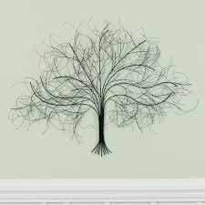 black tree metal wall art on metal wall art tree branches with black tree metal wall art at signals hh5624