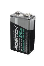 <b>Аккумулятор Robiton</b> RTU270MH-bulk 6F22 SR1 [MH270F8] (<b>крона</b>)