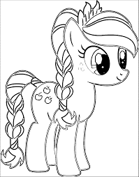 Pony Cartoon My Little Pony Coloring Page 003 Pasenkleurplaten