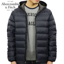 abba black abercrombie fitch regular article men outer down jacket lightweight hooded puffer jacket 132 328 1245 200