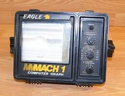 Details About For Parts Eagle By Lowrance Mach 1 Computer Graph Fish Finder Read
