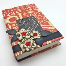 how to make fancy paper book covers