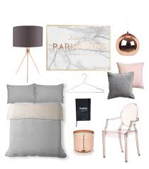 Small Picture Blush copper grey marble bedroom planning by loissteele on