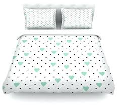 mint green duvet cover project m pin point polka dot white contemporary covers and sets by mint green duvet