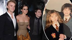 Born thomas andrew felton on 22nd september, 1987 in kensington, london, england and educated at howard of effingham school, he is famous for. Tom Felton Posts Cute Throwback With Harry Potter Co Stars Emma Watson And Daniel Capital