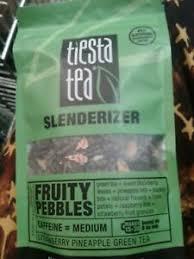 tiesta tea slenderizer lean green